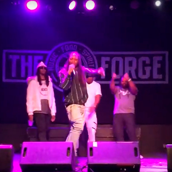 Chicago Rapper Dreadrock - The Forge Concert